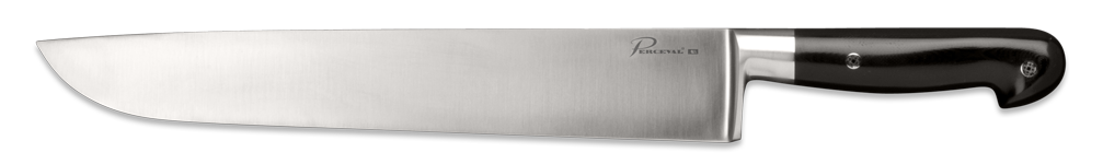 Forged Butcher knife - Black G10