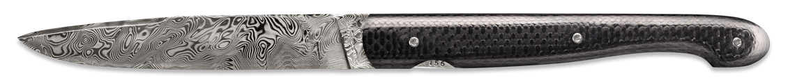 Le Grand - Damascus carbon fiber
