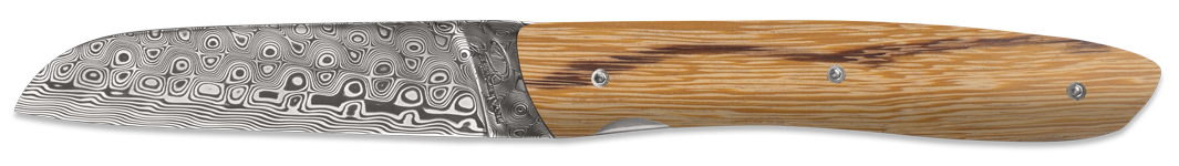 L08 Rose damascus - Serpent wood